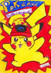 Ash Ist Ein Pikachu by Mikuruchen-Baby