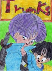 Der Tapfere Trunks Und Son Gohan by Mikuruchen-Baby