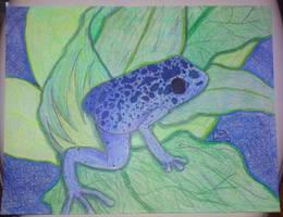 Blue - Day 5 by Nightlovesbirds