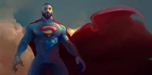 Super by woodunart