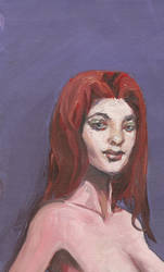 Portrait Study in Oil Paint - Michael Stewart by michaelstewart