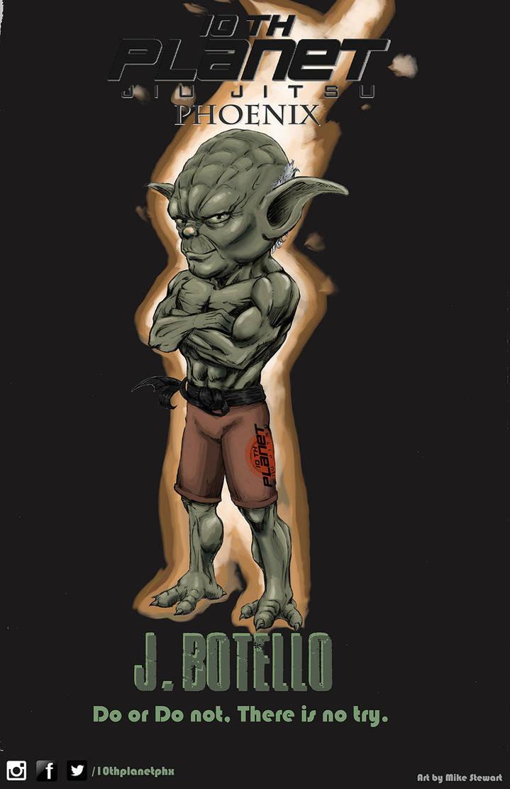 10th Planet Yoda by michaelstewart
