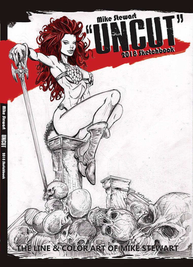 Uncut art book cover by michaelstewart