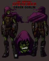 The Unusual Green Goblin by IHComicsHQ