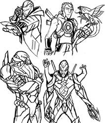 Ben 10 Infinity sketches 2 by IHComicsHQ