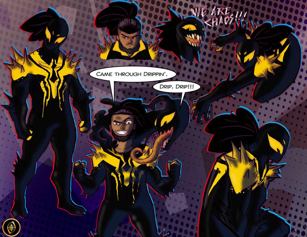Spidersona - Chaos Symbiote by IHComicsHQ