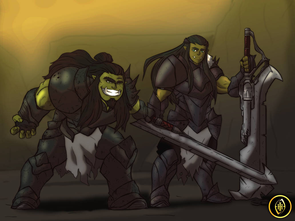 The Orc Species by IHComicsHQ