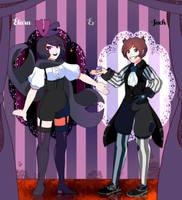 Elara and Jack by SteamingOwl