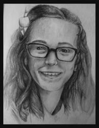 Portrait of a friend by SighBugs