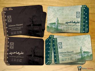 Hasani Visit Card by Sepinik