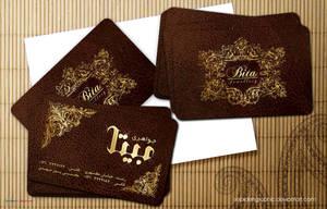 Bita jewellery Visit Card by Sepinik