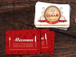 Masman visit card by Sepinik