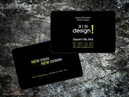 Sepehr visit card by Sepinik