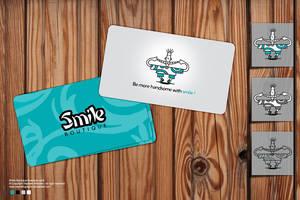 Smile Boutique Business card by Sepinik