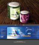 Mani Fam- Paint bucket by Sepinik