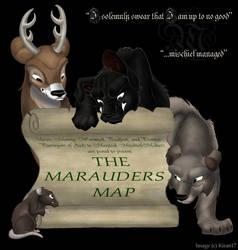 The Marauders Map by kira617