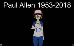 Paul Allen 1953-2018 by qringstaff