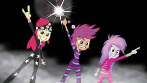 Cutie Mark Glam Rockers by Rainb0wDashie