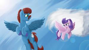 [Commission] Flying Free by Rainb0wDashie