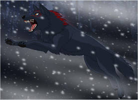 Through the Blizzard by Zerwolf