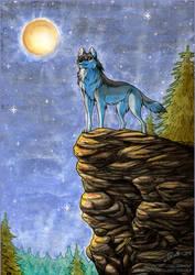 Full Moon by Zerwolf