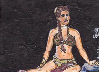 Slave Leia by Dangerskillz