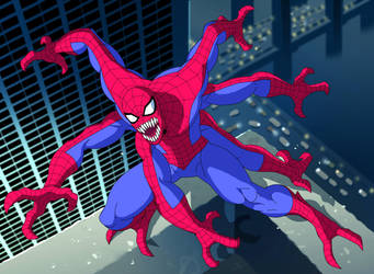 spider man the animated series doppelganger by stalnososkoviy