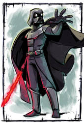 Darth Vader color by stalnososkoviy