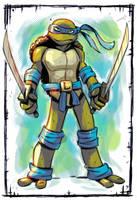 Ninja Turtles: Leonardo color by stalnososkoviy