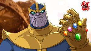 Thanos by stalnososkoviy