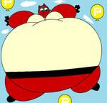 Sarah P Balloon Inflation by RickDaCuteChubster