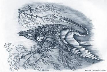 Heavenly Manta (Heaven wanderers) by Keltaan