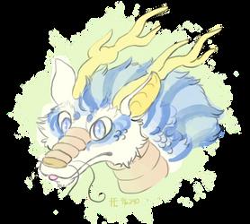 dragon doodle by Nightshadow-Horus