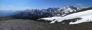 Whistlers Peak Panorama by DillBagel