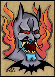 ONI BATMAN by CHIZZZ