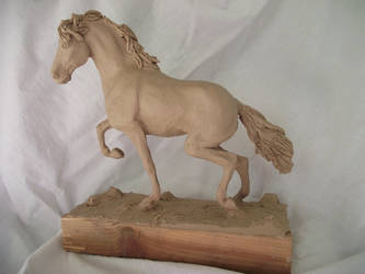 Clay Sculpture by thuvia