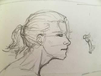 Sketch Kaledin and Sil by thuvia