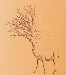 Antler Collection Logo by thuvia