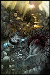 GEARS OF WARS 2 by IsraelSivaArt