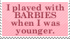 Barbie Stamp by Kiza-San