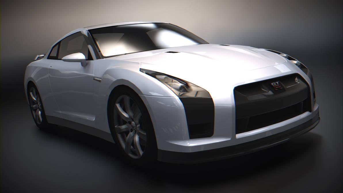 Concept 2 Model D >> Nissan GT-R R35 Proto II by BFG-9KRC on DeviantArt