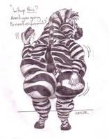 Fat zebra 2 by FatAssClub