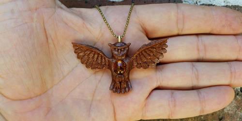 Amber Owl 2 by dkart71
