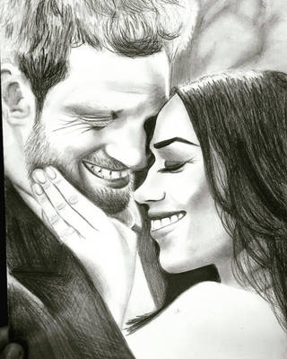 Prince Harry and Meghan Markle by cncheckit