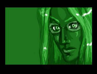 Green by ValinQuen
