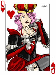 The Queen of Hearts by ValinQuen