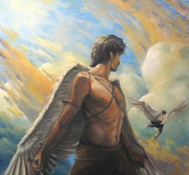 Icarus and Daedylus by TaekwondoNJ