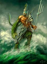 Poseidon by TaekwondoNJ