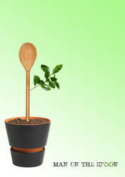 Green Spoon by Kl-lAYMAN
