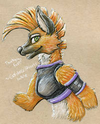 (Gift) Thanks to the Fox by GoldenGriffiness